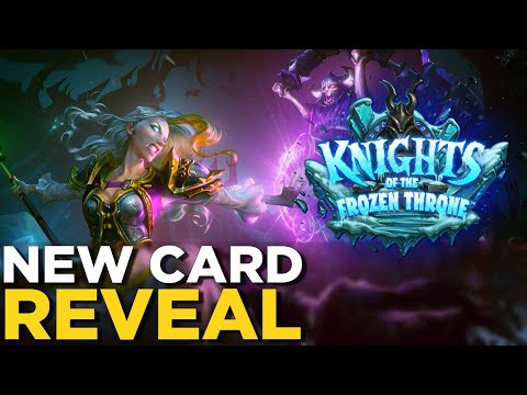Knights of the Frozen Throne EXCLUSIVE! NEW CARD REVEAL for Hearthstone's Next Expansion