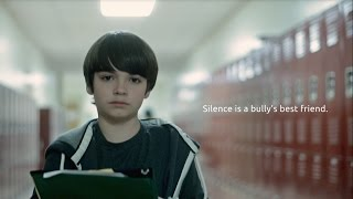 Silence is a bully's best friend. 60 second film