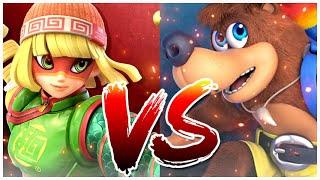 Super Smash Bros Ultimate Versus Min Min Vs Banjo Kazooie