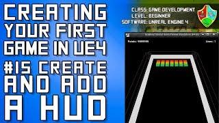 unreal engine 4 hud widget blueprint tutorial - Thủ thuật
