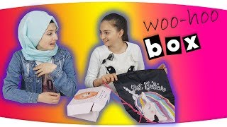 WOOHOOBOX Nisan Ayı Kutu Açılımı 💝 ( WOO-HOO BOX ) - WOOHOOBOX April Opening Box