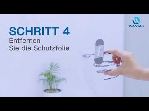 Wangel Fönhalter Installationsvideo