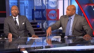 Inside The NBA - The Crew talks about Kyrie Irving calling LeBron James to apologize