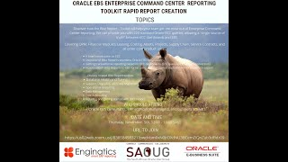 South African Oracle User Group demo on Oracle EBS Enterprise Command Center