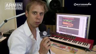 Feels So Good - In the studio with Armin van Buuren