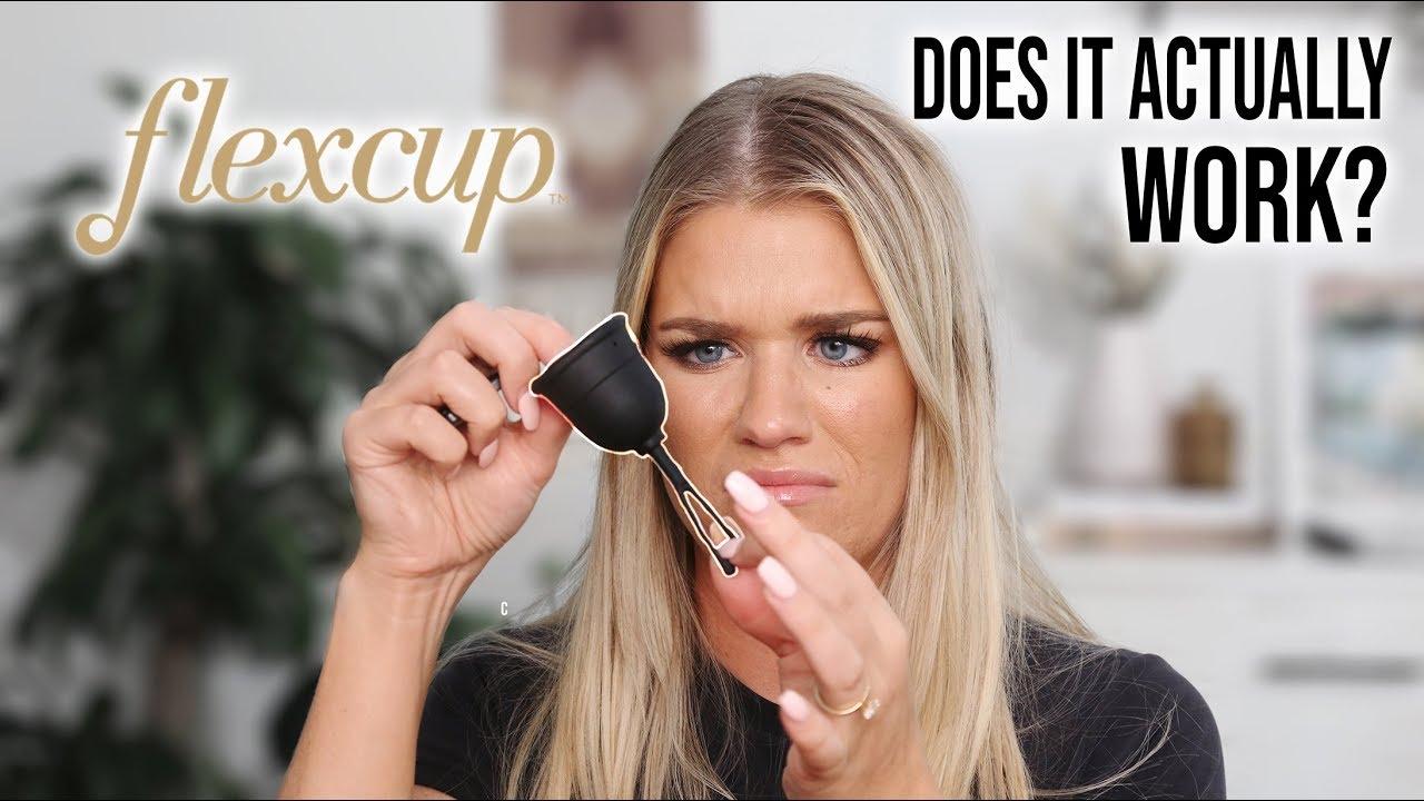FLEX CUP...EASIEST CUP EVER?   Samantha Ravndahl
