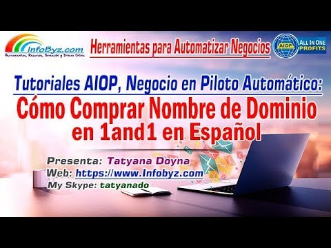 Comprar Dominio de 1and1-Instrucciones Paso a Paso para Comprar Dominio en 1and1