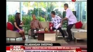 Video Munarman Siram Wakil FPI Thamrin Tamagola Saat Diskusi Di Apa Kabar Indonesia Pagi TV One