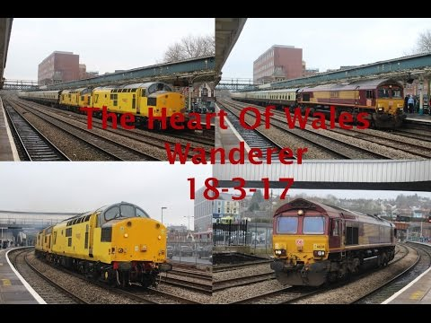 Pathfinder Tours 'The Heart of Wales Wanderer' with 66238, 9…