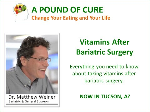 Vitamins After Bariatric Surgery