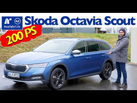 2021 Skoda Octavia Scout 2.0 TDI 200PS DSG 4x4  - Kaufberatung, Test deutsch, Review, Fahrbericht
