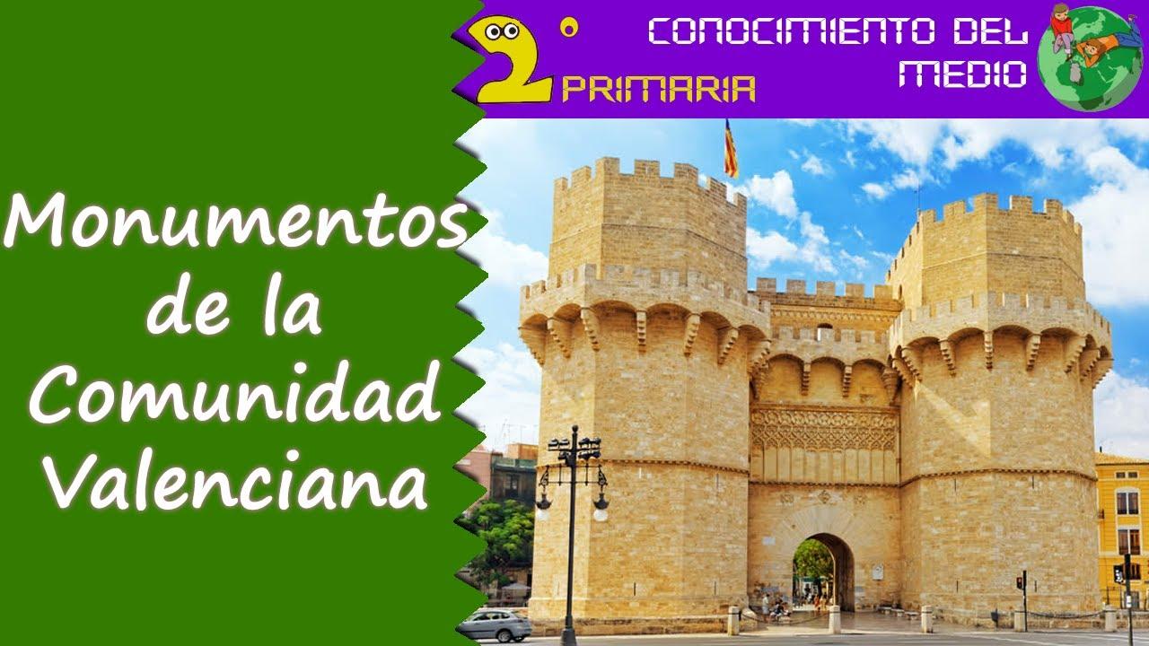 Cono, 2º Primaria. Tema 15. Los monumentos de la Comunidad Valenciana