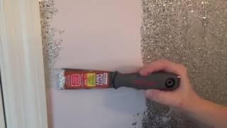 DIY Glitter Walls