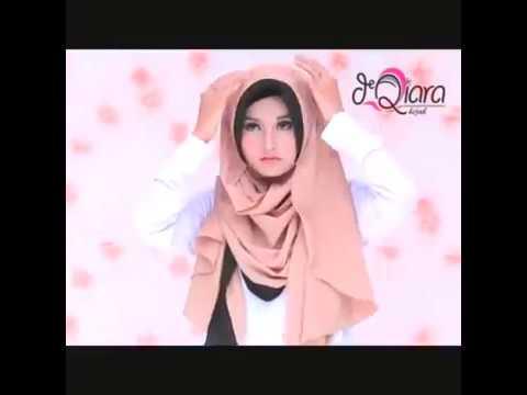 Video Cara Pakai One Step Hijab Pad Maryam by dQiara
