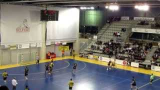 preview picture of video 'Belfort/Montbéliard HB VS ES Nanterre HB 92'
