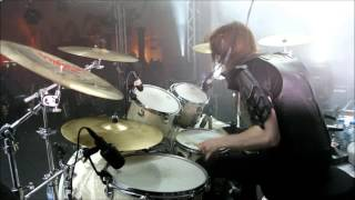 Nils Dominator Fjellström - Dark Funeral - Hail Murder (Drumcam)