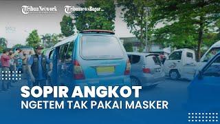 Sidak Jalur Macet, Wakil Wali Kota Bogor Geram Lihat Sopir Angkot Ngetem Tak Pakai Masker