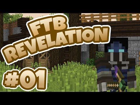 Ftb revelation 2 ep3 tinkers tools + some building