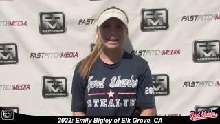 2022 Emily Bigley Speedy Slapper and Outfield Softball Skills Video - Yardsharks