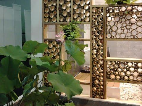 Bambu Kullanılan Dekorasyon Düşünceleri