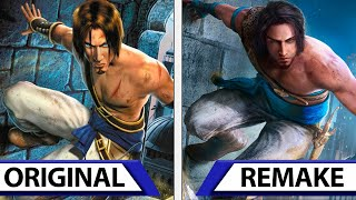 Prince of Persia: Sands of Time | Remake VS Original | Graphics Comparison Trailer