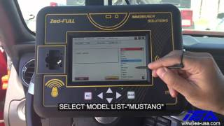 FORD MUSTANG-2013-10 MIN BYPASS KEY PROGRAMMING WITH ZED-FULL