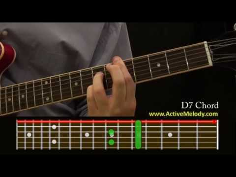 How To Play a D7 Chord On The guitar