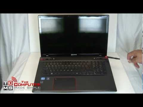Toshiba Qosmio X870 Notebook Review