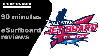 Best electric surfboard & hydrofoil reviews 2018 (Full 90 minutes film)