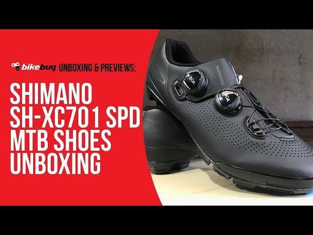 Видео Велотуфли Shimano SH-XC701ML черные