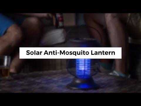Viseća solarna svjetiljka protiv kukaca UV Eco Goods SL 800