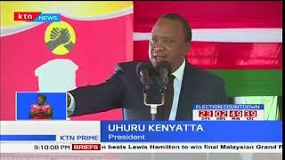 President Uhuru Kenyatta backs members of parliament for amending electoral laws before fresh polls