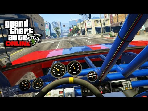 GTA 5 PS4 - All Off-Road Cars Interior Showcase! (GTA V First Person)