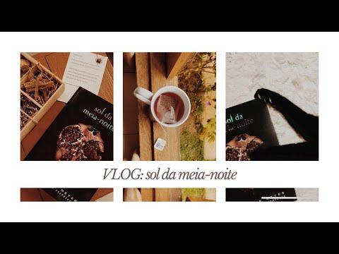 UNBOXING + VLOG DE LEITURA: SOL DA MEIA-NOITE | Laura Brand