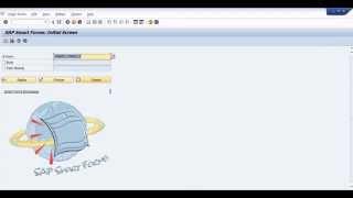sap abap beginner step by step tutorial:smartform demo display table data