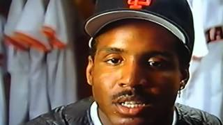 Barry Bonds First Year Highlights As A San Francisco Giant