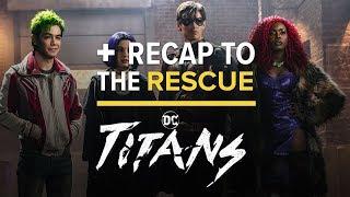'Titans' Episode 1x01 - DC Comics Universe Easter Egg Recap