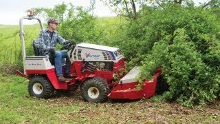 Clearing Thick Brush and Giant Thorn Bushes with Ventrac