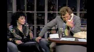 Letterman: Joan Jett performance & interview [1987]