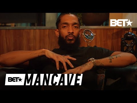 Nipsey Hussle Talks Being Comfortable In His Own Skin | BET's Mancave