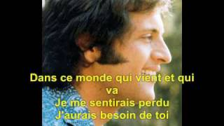 Et Si Tu N'Existais Pas   Joe Dassin Lyrics