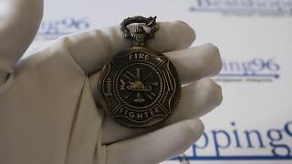 Видео обзор карманных часов на цепочке для пожарного