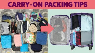 How To Pack A Carry-On Suitcase For A Two-Week Trip