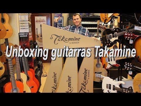 Unboxing: Guitarras Takamine