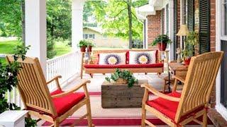 20 Front Porch Decorating Ideas
