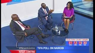 Mike Sonko edges closer to Nairobi governor Evans Kidero as TIFA releases Nairobi polls