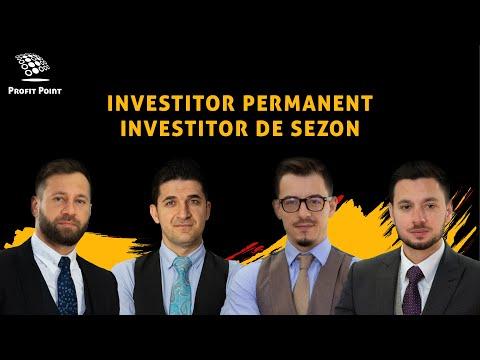 Investitor permanent sau investitor de sezon? Investitii la bursa pentru venituri pasive - 2021