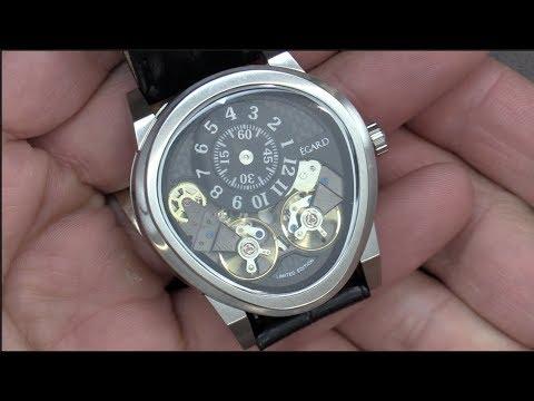 Este reloj es uno de los mas originales, Égard Quantus V2 Mayan