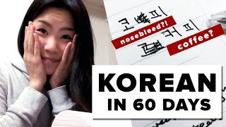 I Tried To Learn Korean In 60 Days thumbnail
