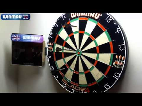 Retired The Old Board - Hung Up The New Board - Winmau